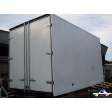 """Фургон """"Газель"""" усиленный, 4 м 25 см * 2,1 м * 2,3 м (высота), металлический."""