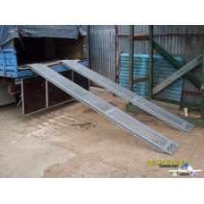 Аппарели (трапы) стальные г. п. 500 кг.