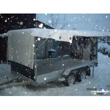 """Расширенный фургон прицепа """" Автос"""""""