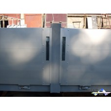 Съёмная бортовая стойка высотой 600 мм (средняя)