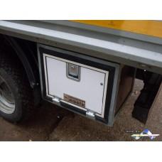 Ящик инструментальный, (500 Длина * 400 Высота * 400 Глубина) дверца с металлопластом