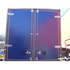Ворота для грузовиков с металлопластом любого цвета