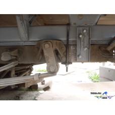 """Восстановленная платформа """"Газель"""" 3,17 м. (с усилением швеллерами)"""