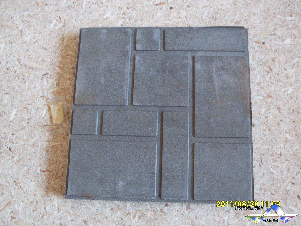 Пескополимерная тротуарная плитка 39