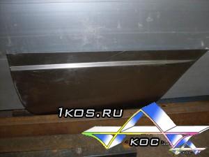 Ремонтные накладки на двери для » Газели». (Наружные и внутренние). 600 руб. за штуку.