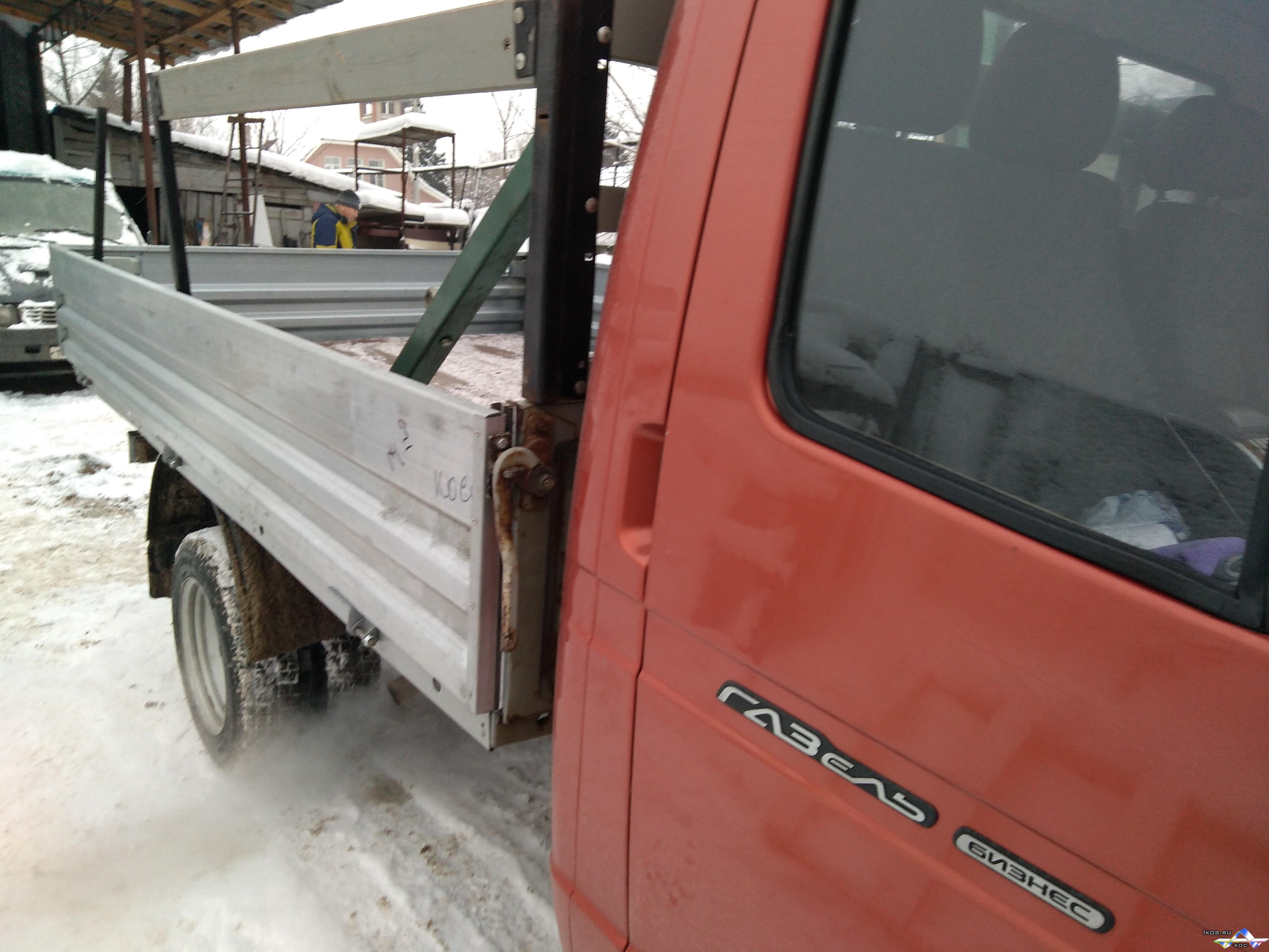 Оцинкованные борта для грузовиков.