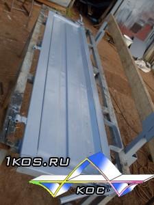 """Восстановленный задний борт для """"Газели"""". Цена 2 500 р."""