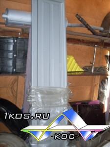 Пластиковые ремонтные накладки для бортов.
