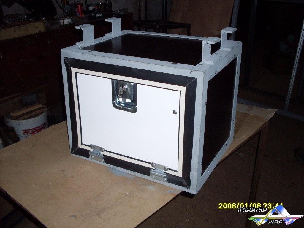 Как сделать ящик для аккумулятора