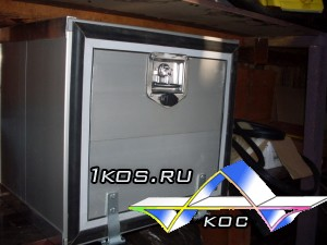 Алюминиевый инструментальный ящик (кофр).