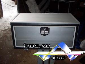 Алюминиевый ящик длина 850 мм*высота 400 мм*глубина 450 мм.