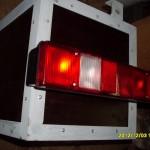 Инструментальный ящик с задним фонарём.