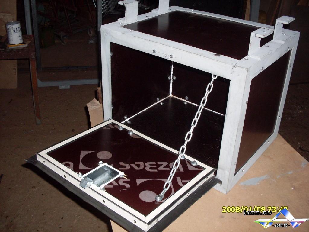 Инструментальный ящик с пластиком.