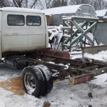 Старый кузов снят.