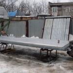 """Усиленная платформа для удлинённой """"Газели""""  4,25 м."""