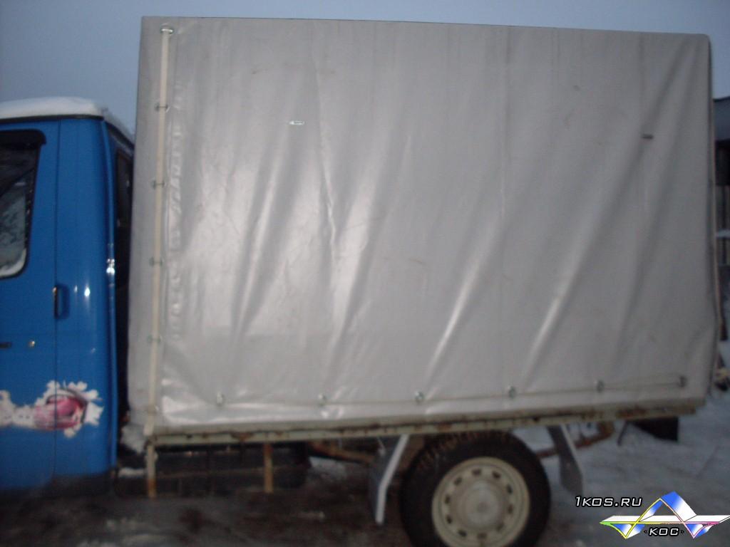 Тент установлен на низкий кузов.