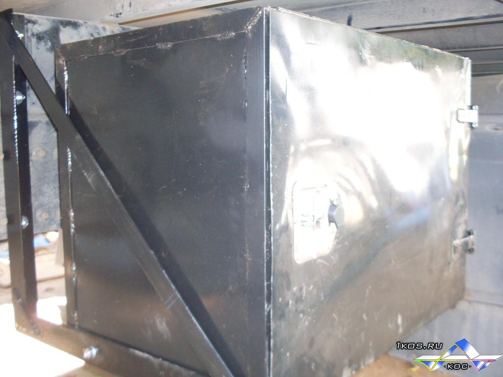 Железный ящик.