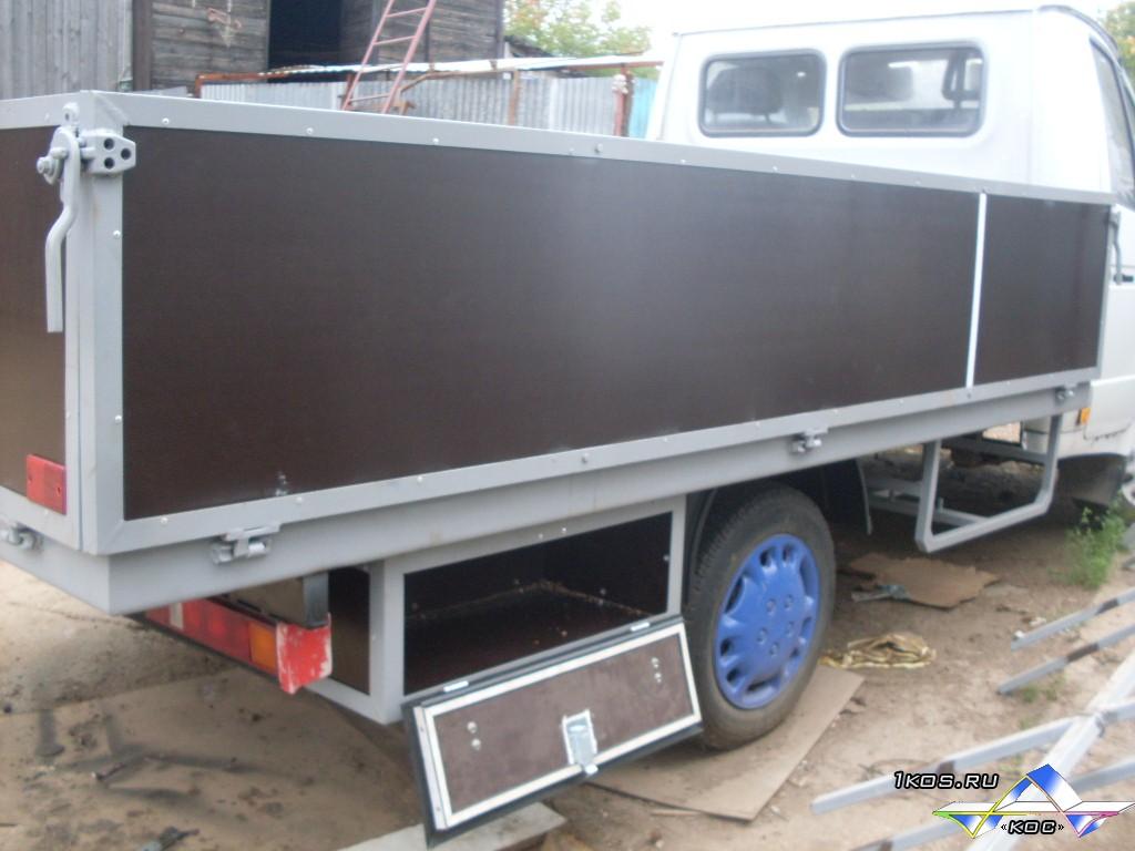 Переделка фургона газели своими руками 89