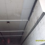 Потолок после ремонта.