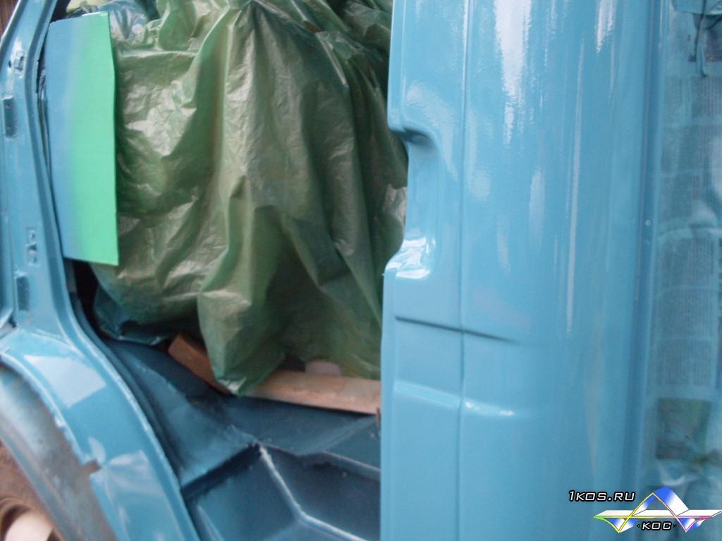 Покраска деталей кабины.