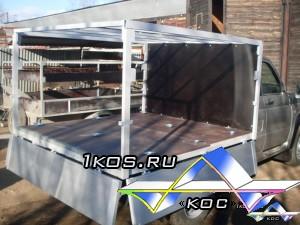 Уаз с алюминиевыми бортами и новым, разборным каркасом и алюминиевыми ящиками