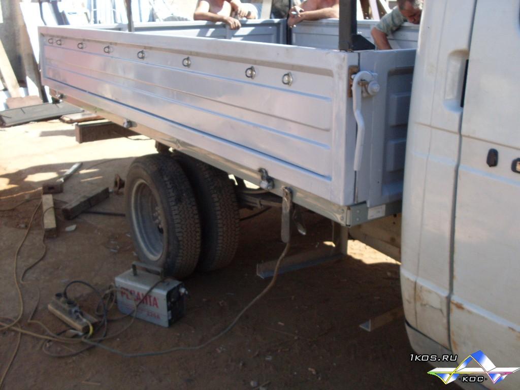 Переделка фургона газели своими руками 43