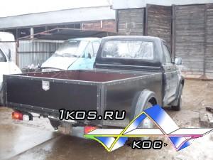 """Уаз Патриот Карго  с низким кузовом """"Чёрный алюминий""""."""