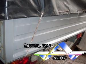 Пластиковые борта на УАЗ Патриот Карго.