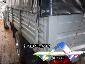Сравнение  металлического и пластикового борта на УАЗ Патриот Карго.