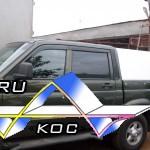 Алюминиевый кунг для УАЗа.