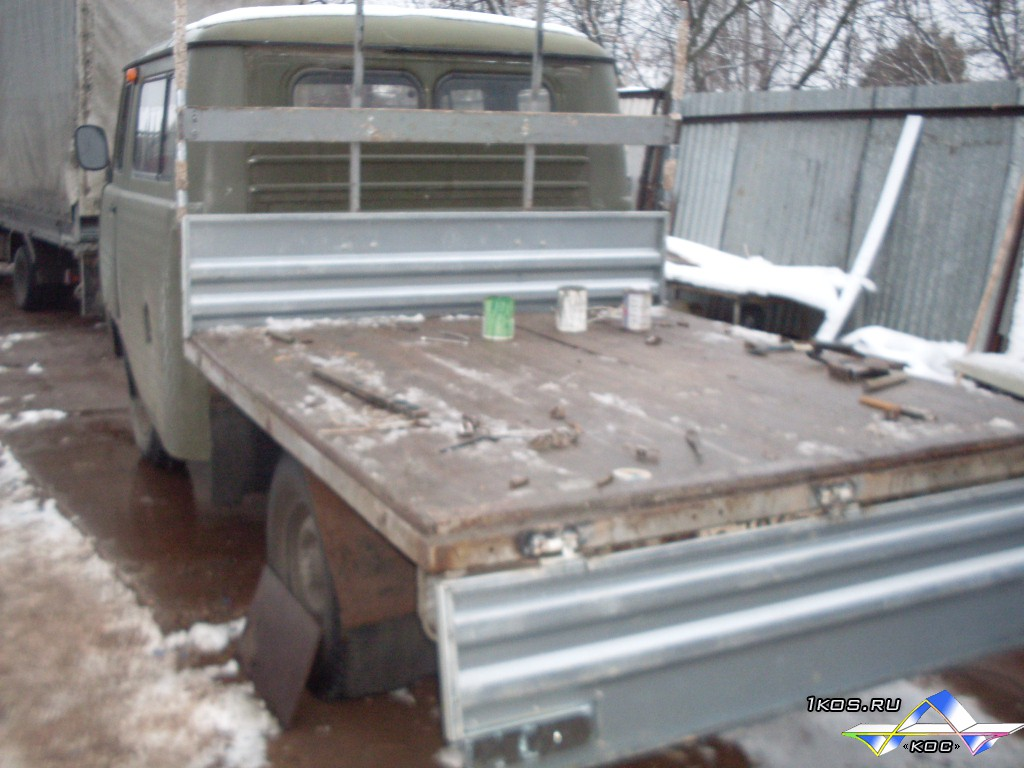 Оцинкованные борта для УАЗа.
