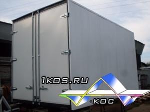 Металлический фургон