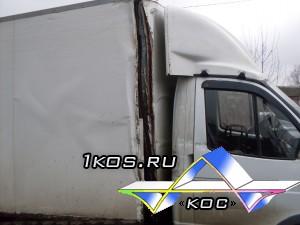 До ремонта. Фургон развалился.)
