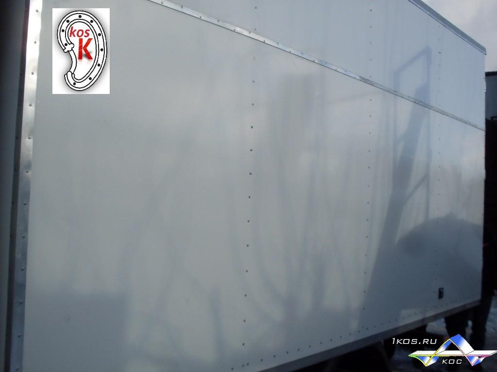 Фургон из армированного пластика.