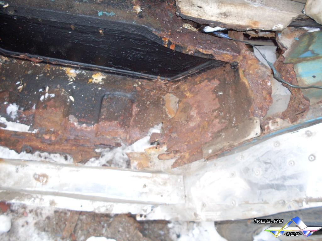 До ремонта подножки кабины.